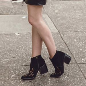 Matisse Vox ankle suede boots new
